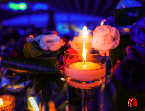 Candle-in-a-wedding-hall